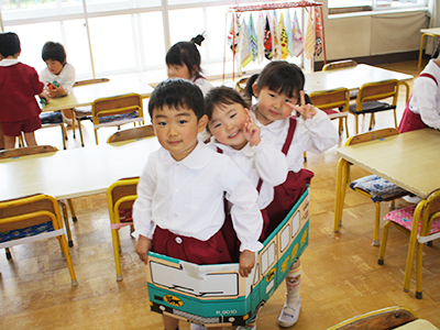 幼稚園は学校教育法に基づく『学校』です。