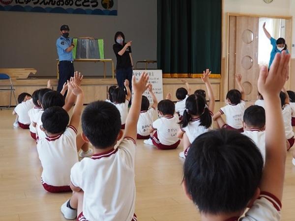 5月25日 交通安全教室を行いました